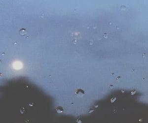 aesthetic, sad, and rain image
