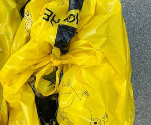 plastic and yellow image