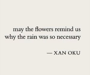 artist, flowers, and poem image