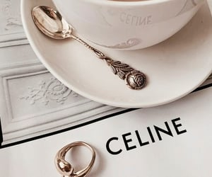coffee, aesthetic, and celine image