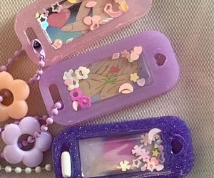 accessories, flowers, and glitter image