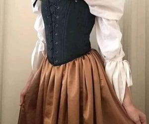 castle, corsette, and princess image