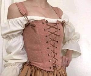 castle, corset, and princess image