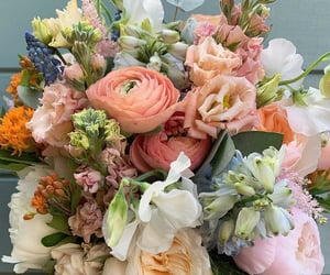 bouquet, florals, and flores image