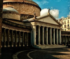 architecture, Naples, and pillar image
