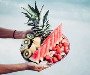 eat, fruit, and travelling image