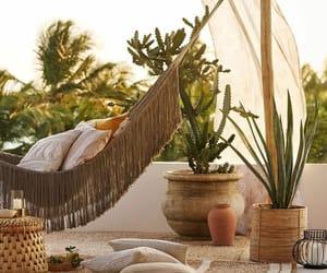 hammock, resort, and straw image
