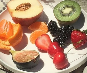 fruit, cherry, and food image