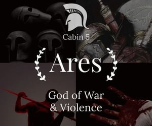 ares, violence, and war image