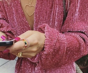 fashion, pink, and trend image