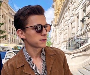 tom holland, spiderman, and actor image