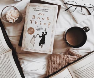 book worm, reading, and books image