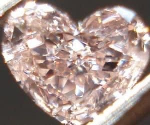 art, diamond, and heart image