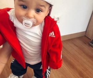 adidas, blue, and baby image