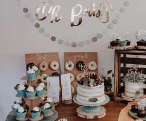 babies, cake, and event image