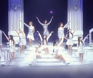 sakura, stage, and yuri image