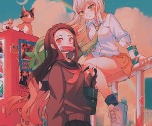 anime, anime girl, and anime kawaii image