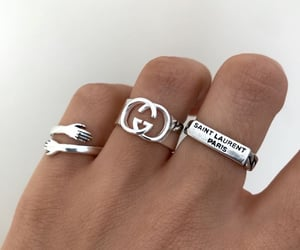 aesthetic, gucci, and rings image