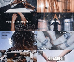 aesthetic, character, and solangelo image