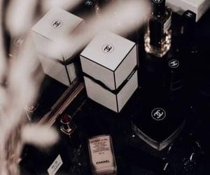 chanel, makeup, and dark vogue image