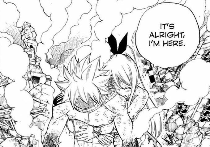 anime, anime couple, and natsu dragneel image