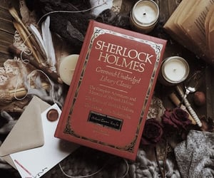 book, baker street, and brown image