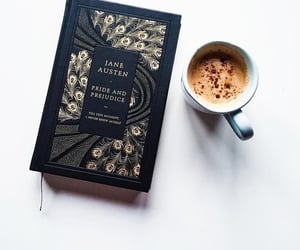 books, classic, and coffee image