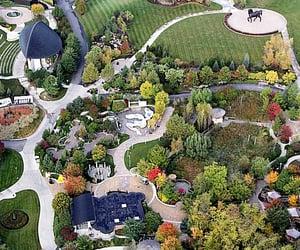 botanical garden, grand rapids, and kent image