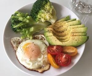 avocado, breakfast, and fresh image