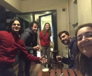 beer, night, and evs image