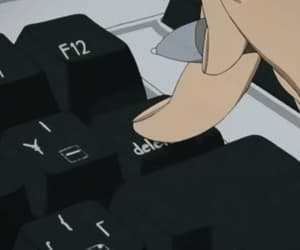 aesthetic, anime, and computer image