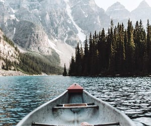 travel, nature, and boat image