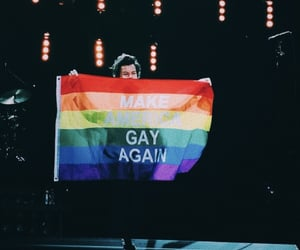 concert, flag, and gay image