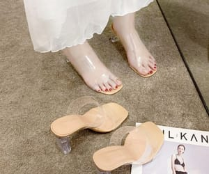 transparent, street wear, and womens shoes image