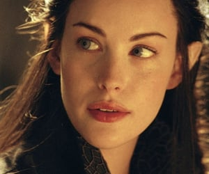 the lord of the rings, liv tyler, and arwen undomiel image
