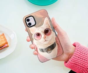 cat lover, custom case, and iphone cases image