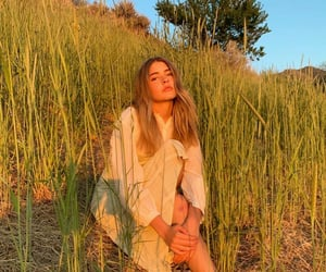 blonde, cool, and grass image