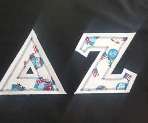 bag, letters, and shirt image