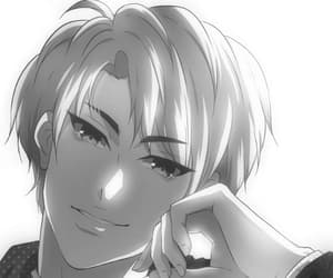 black and withe, webtoon, and age matters image