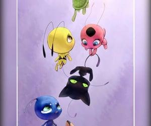 ladybug, tikki, and plagg image