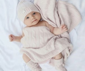 babies, beige, and child image