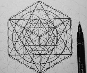 art, meditation, and pattern image