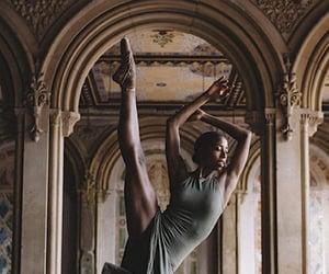 dancer, bellarina, and dark academia image