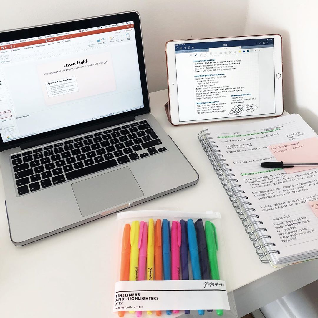 study, study notes, and study motivation image