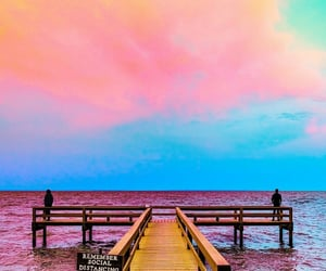 colorful, colors, and dock image