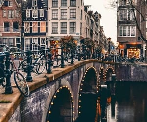 amsterdam, travel, and wanderlust image