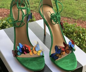shoes, butterfly, and classy image