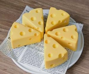 cheese, custard, and dessert image