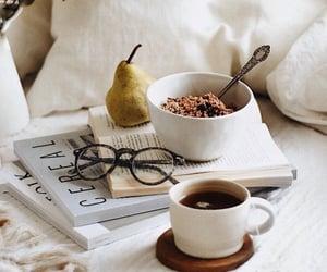 breakfast, magazine, and mood image