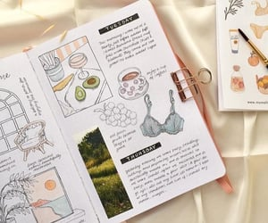 plans, week, and bullet journal image